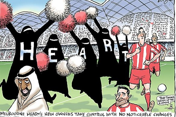 Melbourne Heart New Owners (c) Herald Sun
