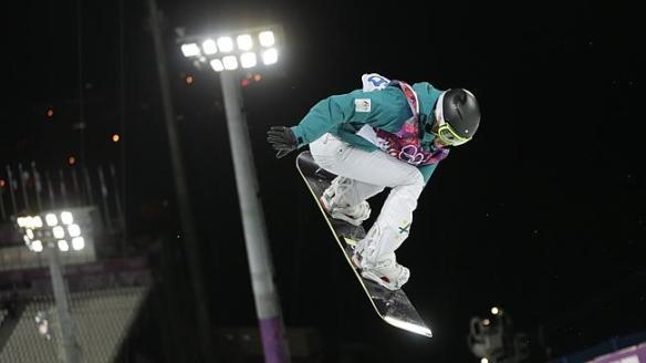 Torah Bright Half-Pipe Sochi 2014