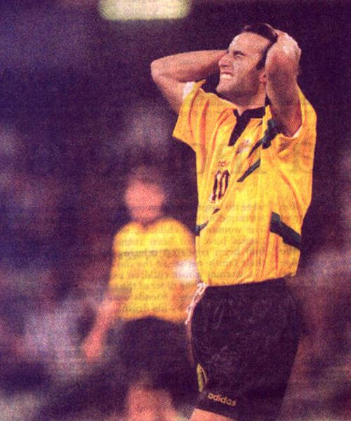 Aurelio Vidmar - Australia vs Iran 1997 World Cup Qualifier MCG Melbourne