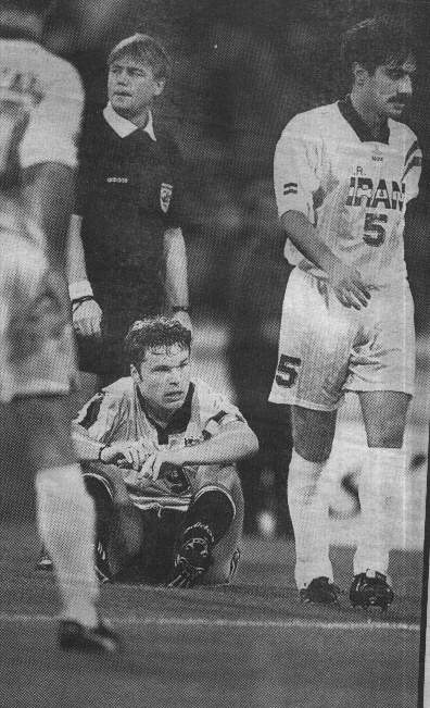 Mark Viduka - Australia vs Iran 1997 World Cup Qualifier MCG Melbourne