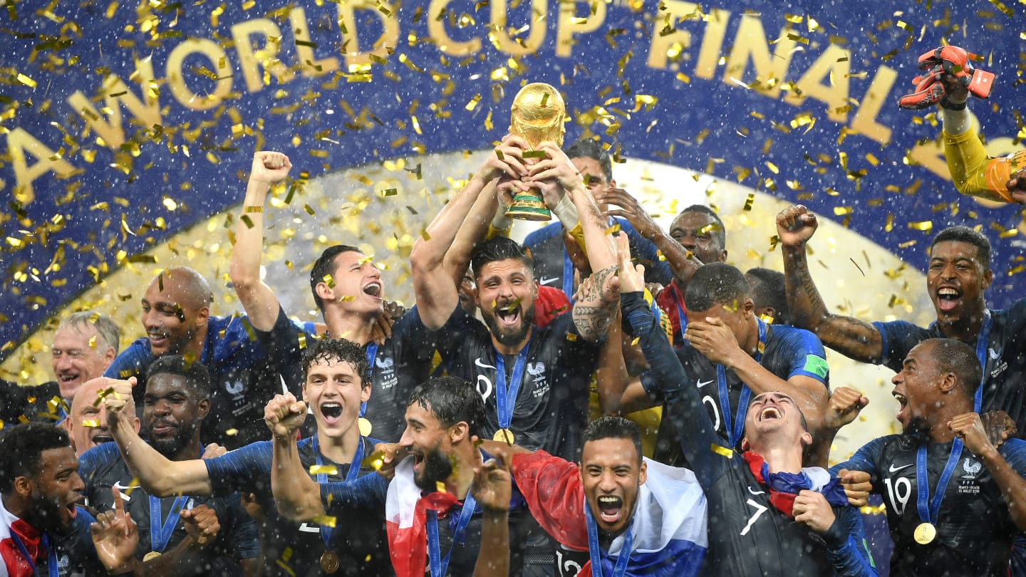 France wins the 2018 World Cup in Russia