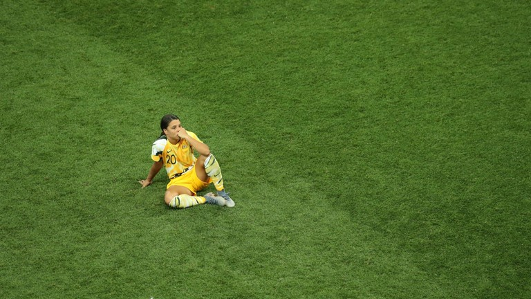 France 2019 - Women's World Cup Review - Sam Kerr misses penalty shootout kick for Australia vs Norway