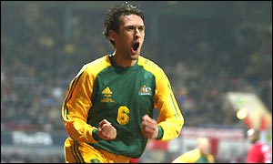 England 1 - Australia 3 - 2003 Friendly - Preview and Review - Tony Popovic scores